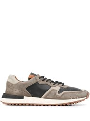 Buttero Panelled Low Top Sneakers 60