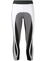 No Ka' Oi Sports Performance Leggings Women Polyamide Spandex Elastane L Grey