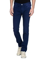 Paul Smith Jeans Denim Denim Trousers Men Bright Blue