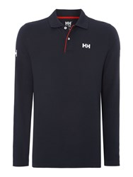 Helly Hansen Classic Long Sleeve Polo Navy