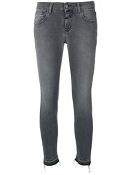 Closed Low Rise Skinny Jeans Black