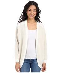 Element Leena Wrap Sweater Natural Women's Sweater Beige
