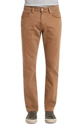 Mavi Jeans Marcus Slim Straight Leg Pants Toffee Washed Comfort