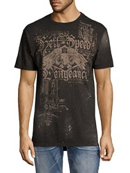 Affliction Hell Speed Cotton Tee Black