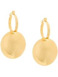 Paula Mendoza Tule Earrings Metallic