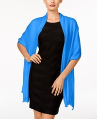Inc International Concepts Satin Wrap Only At Macy's Aegean Medium Blue