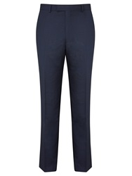 Daniel Hechter Birdseye Tailored Suit Trousers Airforce