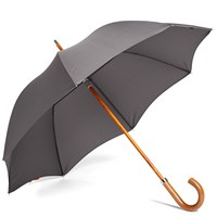London Undercover City Gent Telescopic Umbrella Grey
