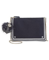 Tommy Hilfiger Tommyxgigi Nautical Chain Link Crossbody Navy