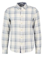 Wrangler Slim Fit Shirt Whitecap Beige Light Blue