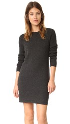 Equipment Willy Mini Dress Charcoal Heather Grey