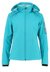 Cmp F.Lli Campagnolo Soft Shell Jacket Curacao Anice Turquoise