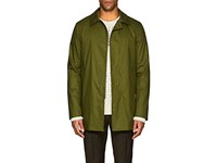 Sealup Cotton Blend Twill Jacket Green