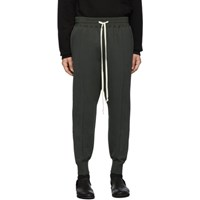 The Viridi Anne Grey Cotton Fleece Lounge Pants