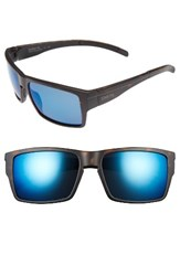 Smith Optics Men's Outlier Xl 58Mm Polarized Sunglasses Matte Tortoise Blue Mirror Matte Tortoise Blue Mirror