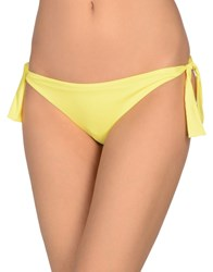 Miss Naory Swim Briefs Yellow