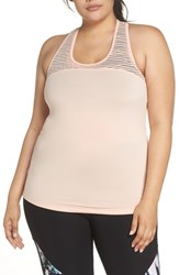 Marika Plus Size Curves Breeze Tank Peach Melba