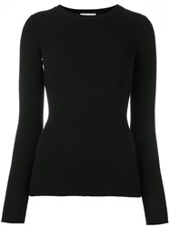 Fashion Clinic Timeless Crew Neck Jumper Black