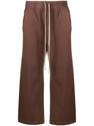 Rick Owens Drkshdw Cropped Drawstring Trousers 60