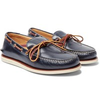 Sperry Top Sider Gold Cup Authentic Leather Boat Shoes Navy