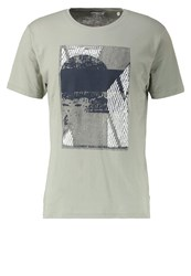 Only And Sons Onstravis Print Tshirt Seagrass Light Green