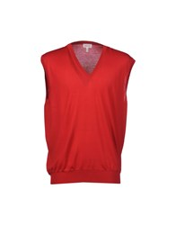 Brioni Sweater Vests Red