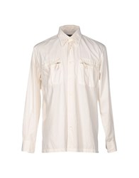 Henry Cotton's Shirts Ivory