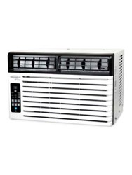 Soleus Energy Star 8500 Btu Window Mounted Air Conditioner And Lcd Remote Control White Black