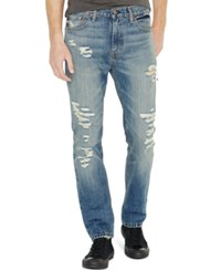 Levi's 511 Slim Fit Ripped Jeans Toto Destructed