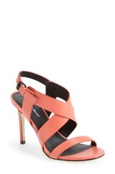 Charles David 'Ivette' Strappy Sandal Women Orange