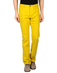 Roberto Cavalli Casual Pants Yellow