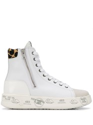 Premiata Edith High Top Sneakers White