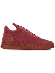 Filling Pieces Long Tongue Sneakers Red