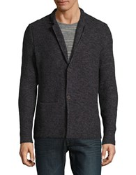 Strellson K Cale J Cardigan Sweater Black