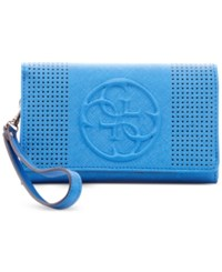 Guess Korry Phone Organizer Wallet Blue