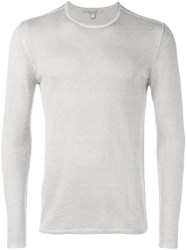 John Varvatos Crew Neck Sweater Grey