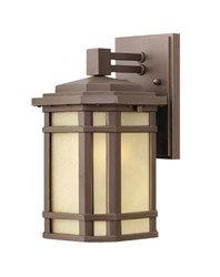 Hinkley Cherry Creek Outdoor Wall Light 1270 Small 11 In H Oz Oil Rubbed Bronze Incandescent Brown