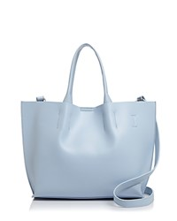 Street Level Christine East West Tote Ice Blue Silver
