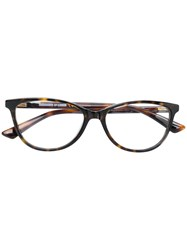 Mcq By Alexander Mcqueen Eyewear Havana Glasses Brown