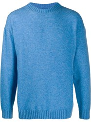 Laneus Long Sleeve Jumper Blue