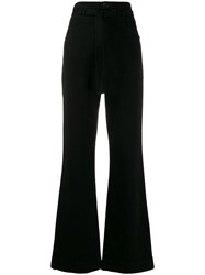 J Brand Sukie Straight Fit High Rise Jeans Black