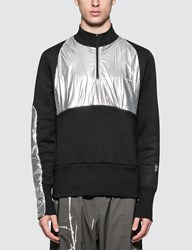 Oakley By Samuel Ross Half Zip Pullover With Metallic Patches