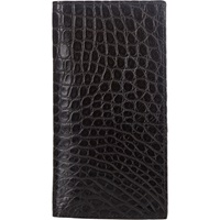 Alligator Long Wallet Black