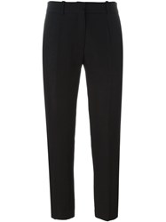 Victoria Beckham Cropped Trousers Black