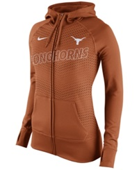 Nike Women's Texas Longhorns Performance Full Zip Hoodie Orange