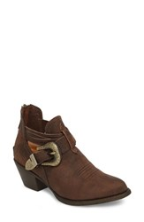 Ariat Dulce Bootie Distressed Brown Leather