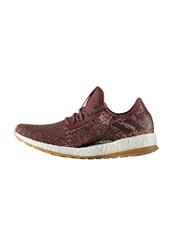 Adidas Performance Pure Boost Allterrain Neutral Running Shoes Mystery Red Night Red Tech Rust Metallic Bordeaux
