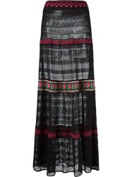 Cecilia Prado Knit Maxi Skirt Black
