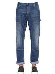 Carhartt Double Knee Washed Cotton Denim Jeans