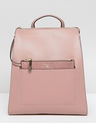 Dune Backpack With Removeable Zip Top Pouch Pink
